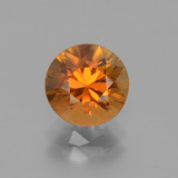 thumb image of 2.6ct Diamond-Cut Golden Orange Zircon (ID: 442320)
