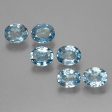 thumb image of 2.7ct Oval Facet Blue Zircon (ID: 444299)