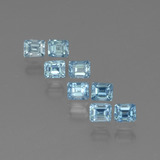 thumb image of 1.7ct Octagon Facet Blue Zircon (ID: 444879)