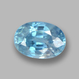 thumb image of 1.4ct Oval Facet Blue Zircon (ID: 459367)