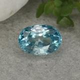 thumb image of 1.4ct Oval Facet Blue Zircon (ID: 459371)