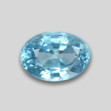 thumb image of 1.2ct Oval Facet Blue Zircon (ID: 459394)