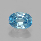 thumb image of 1.5ct Oval Facet Blue Zircon (ID: 459521)