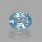 thumb image of 1.4ct Oval Facet Blue Zircon (ID: 459613)
