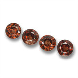 thumb image of 1.7ct Round Facet Red Orange Zircon (ID: 460286)
