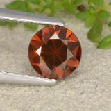 thumb image of 1.2ct Diamond-Cut Orange Zircon (ID: 481907)