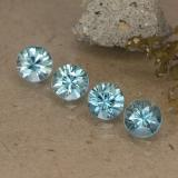 thumb image of 0.5ct Diamond-Cut Light Greenish Blue Zircon (ID: 484637)